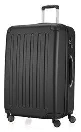 HAUPTSTADTKOFFER - Spree - Hartschalen-Koffer Koffer Trolley Rollkoffer Reisekoffer, TSA, 75 cm, 128 Liter, Schwarz -