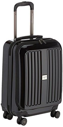 HAUPTSTADTKOFFER - X-Berg -Handgepäck Hartschalenkoffer Koffer Trolley, 55 cm, 42 Liter, TSA, Schwarz -