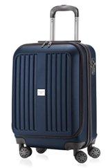 HAUPTSTADTKOFFER - X-Berg - Handgepäck Koffer Trolley Hartschalenkoffer, TSA, 55 cm, 42 Liter, Dunkelblau -