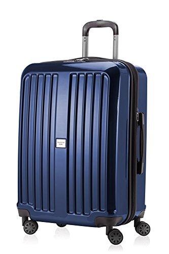 HAUPTSTADTKOFFER - X-Berg - Hartschalenkoffer Koffer Trolley Rollkoffer, 65 cm, 90 Liter, TSA, Dunkelblau -