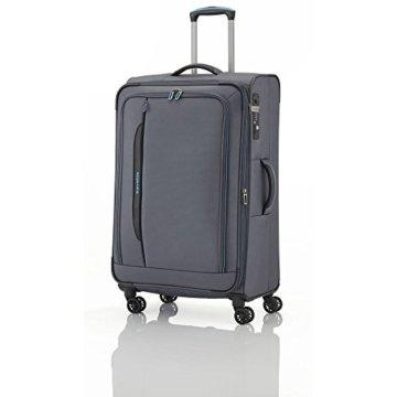 Travelite Crosslite 4w Trolley L Erweiterbar, 89549-04, Koffer, 77 cm, 115 L, Anthrazit -