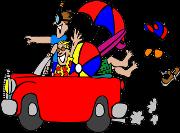 Auto mit Trolley