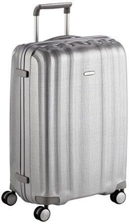 Samsonite LITE-CUBE SPINNER 76/28 Koffer, 96.0 Liter, Silber -