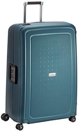 Samsonite S'Cure DLX Koffer, 81 cm, 138 Liter, Metallic Türkis -