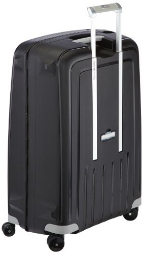 Samsonite S'Cure Spinner 75/28 Koffer, 75cm, 102 L, Black -