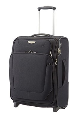 Samsonite Spark Upright 55/20 Exp Koffer, 55cm, 49 L, Black -