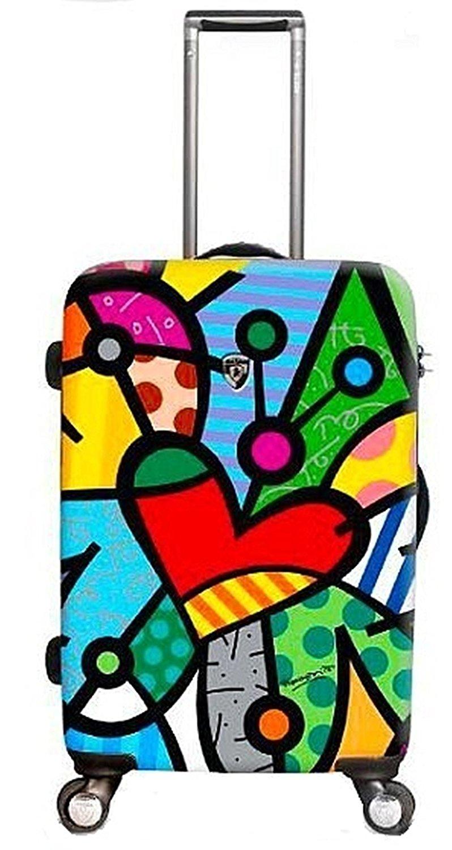 Heys Designer Koffer mit Herz Motiv